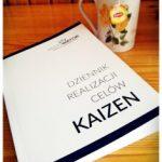 """## Konkurs 1 ## Książka """"Dziennik realizacji celów Kaizen"""" Anety Wątor"""