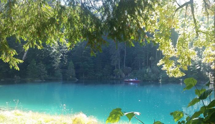 Blausee w Szwajcarii